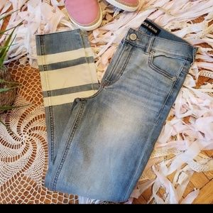 New Express cropped legging high rise, jeans, sz2R